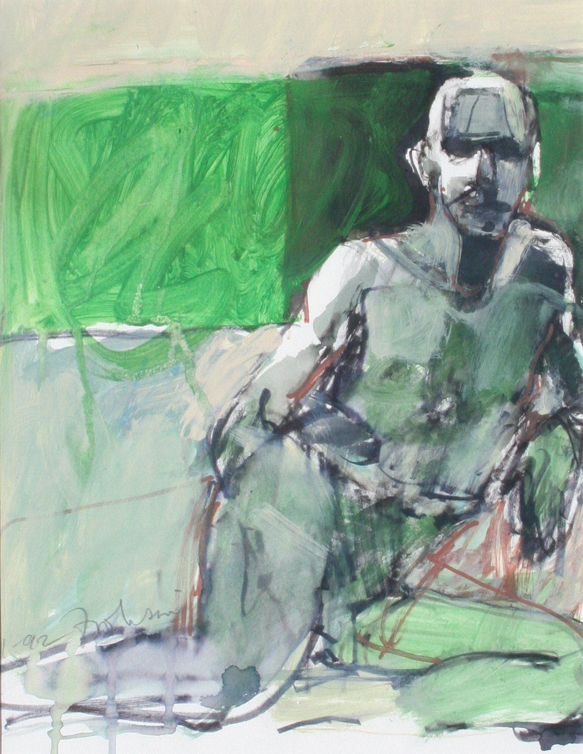 Kim Frohsin Green Nude