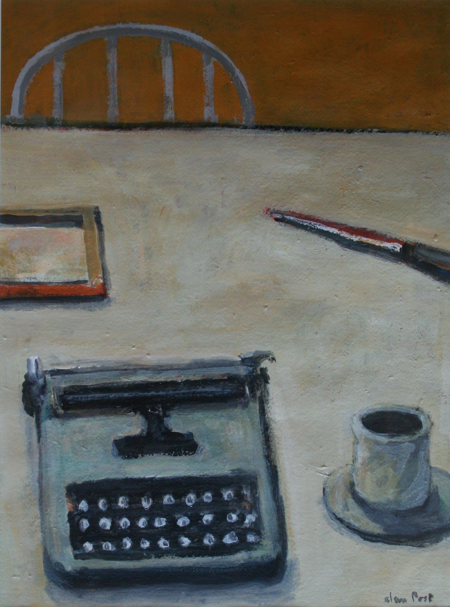 Alan Post Typewriter