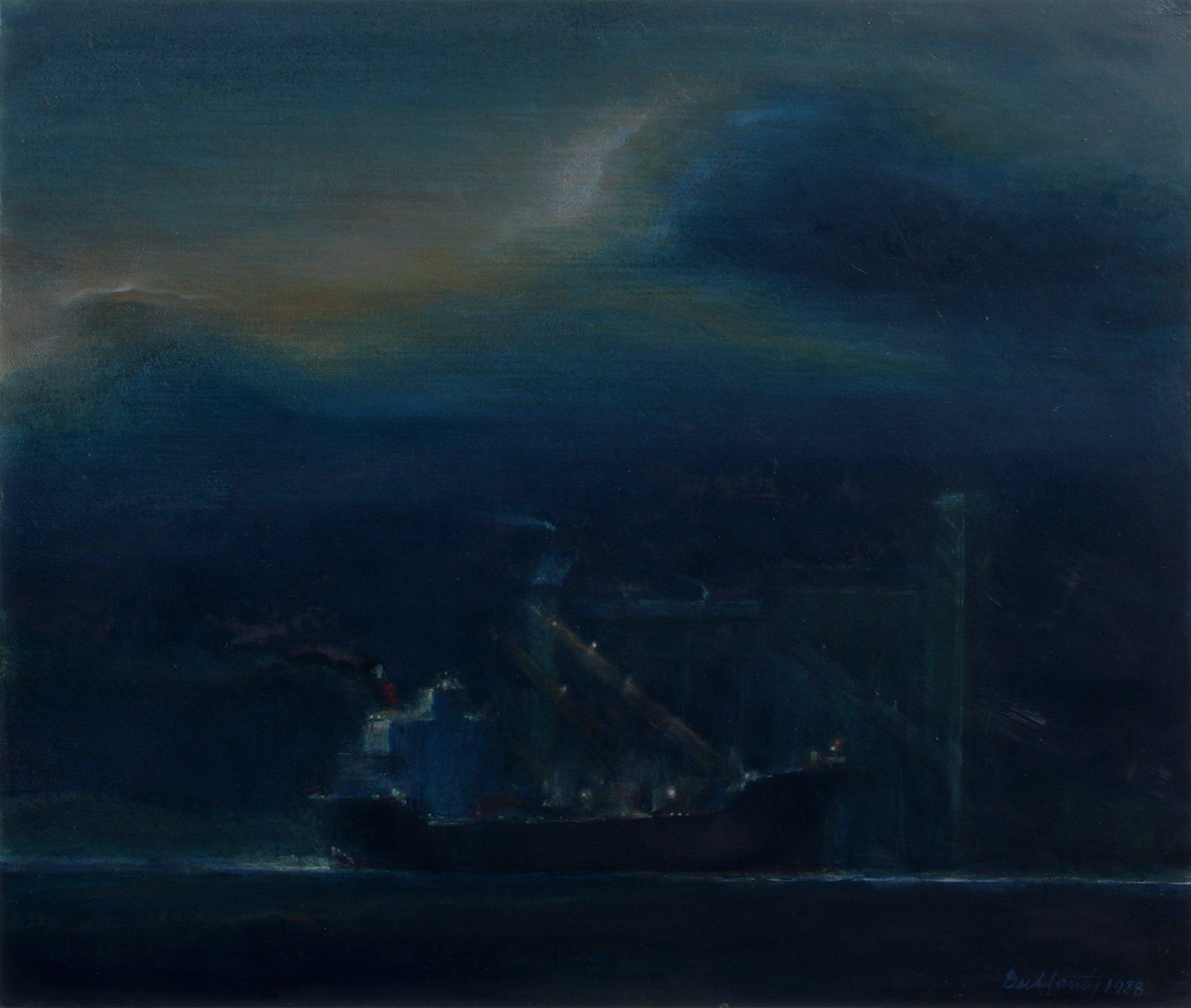 Dullanty, Patrick – Cargo Ship In Harbor