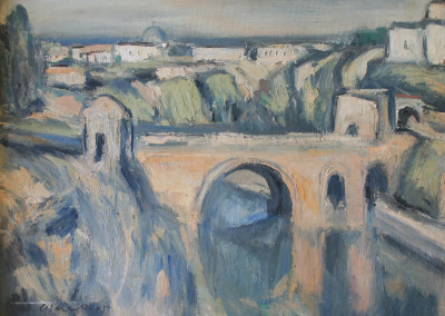 Alan Post The Tagus River, Toledo, Spain