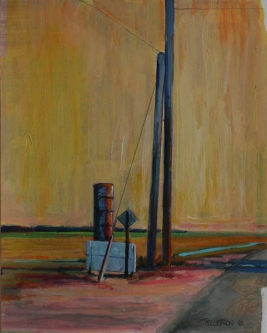 Roy Tellefson, Stand Pipe, 1990
