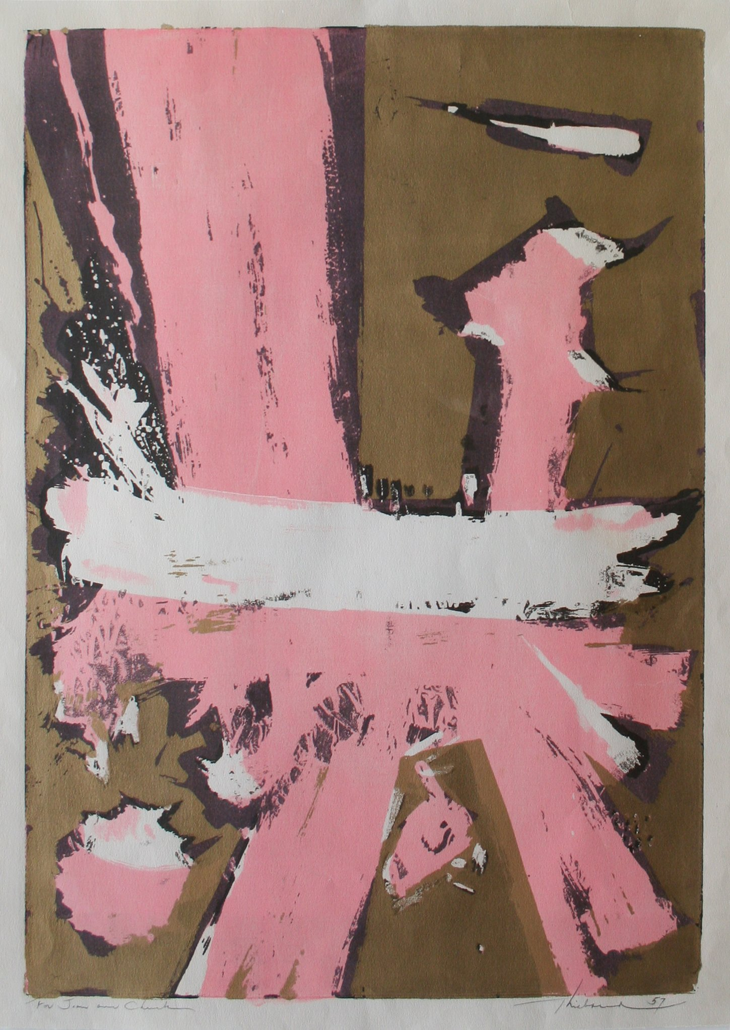 Wayne Thiebaud Untitled, 1957