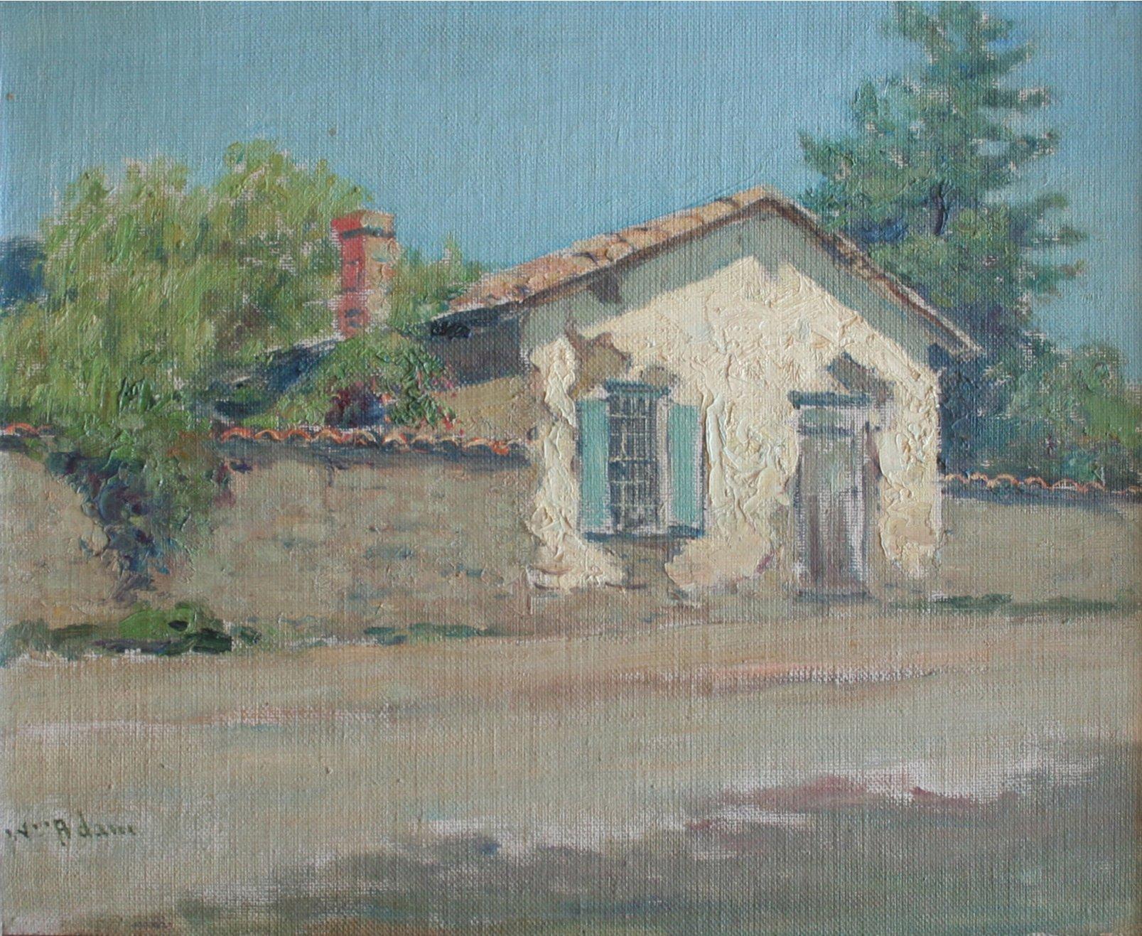 William Constable Adam Old Adobe, Monterey