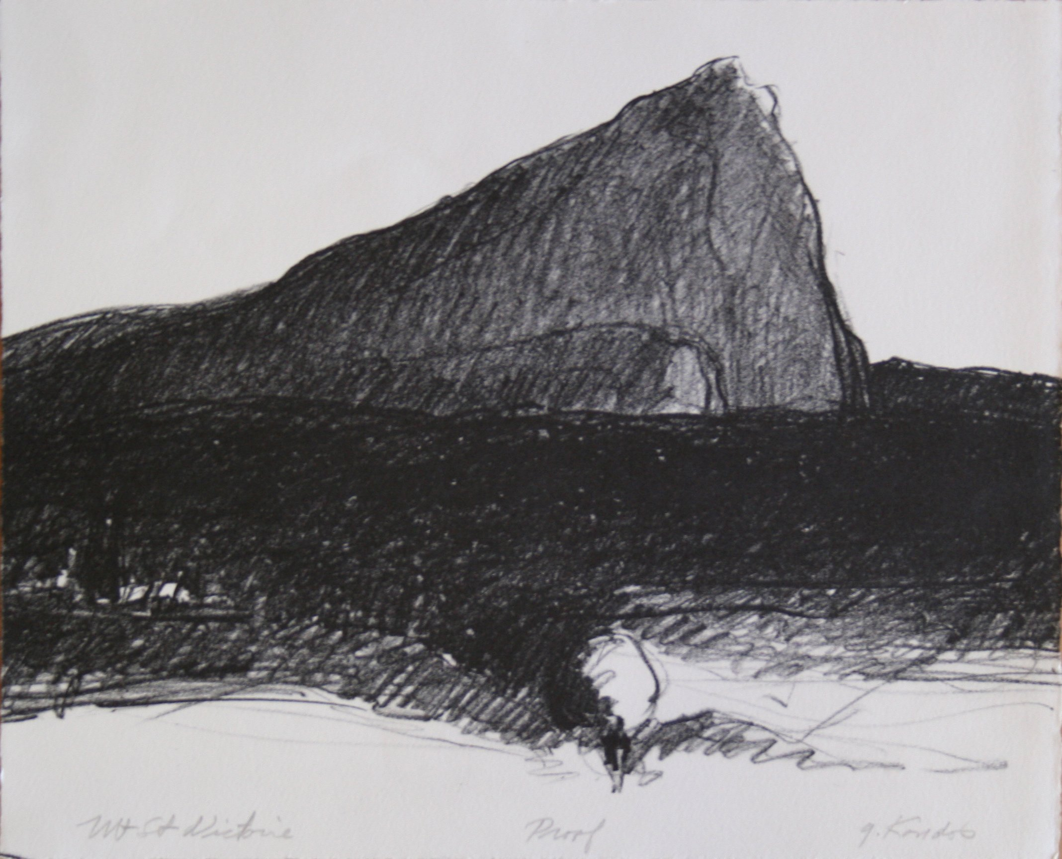 Gregory Kondos Mt. St. Victoire