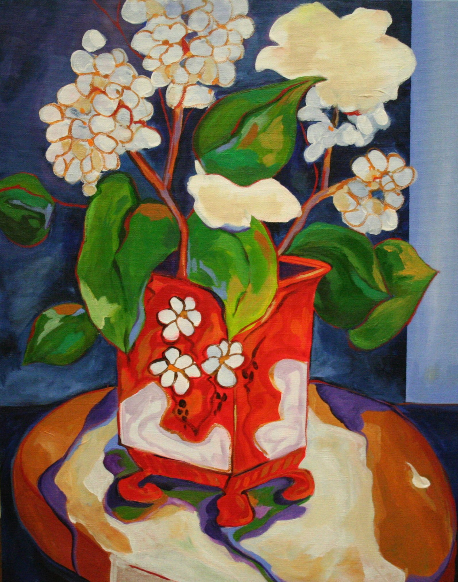 Vito Antonio Ferrante Red Vase II