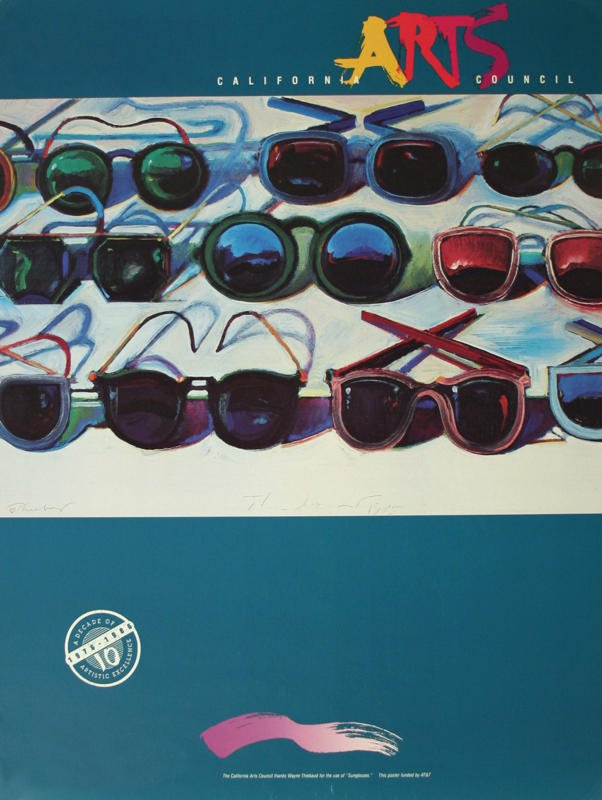 Wayne Thiebaud Sunglasses