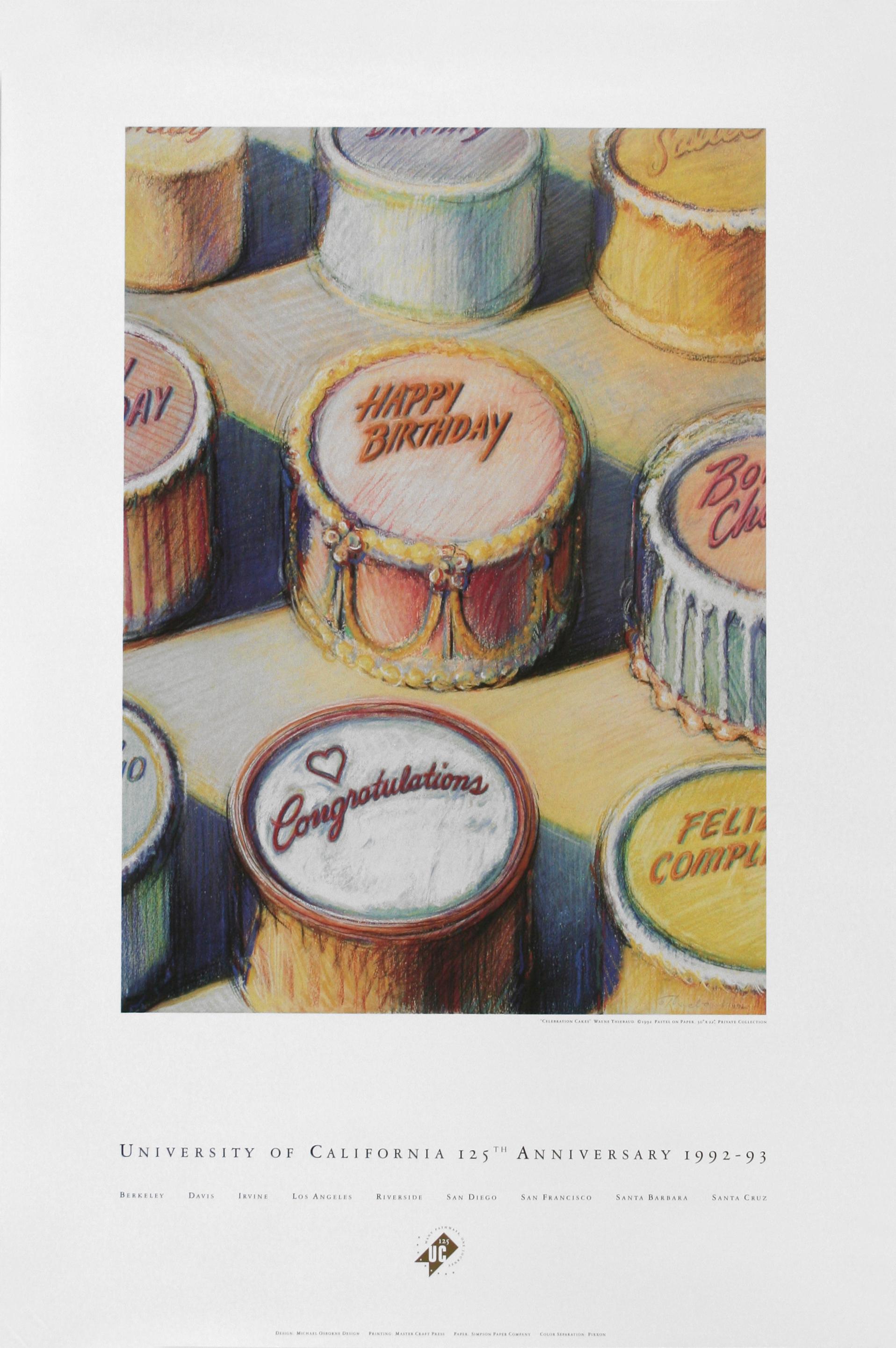 Wayne Thiebaud Celebration Cakes