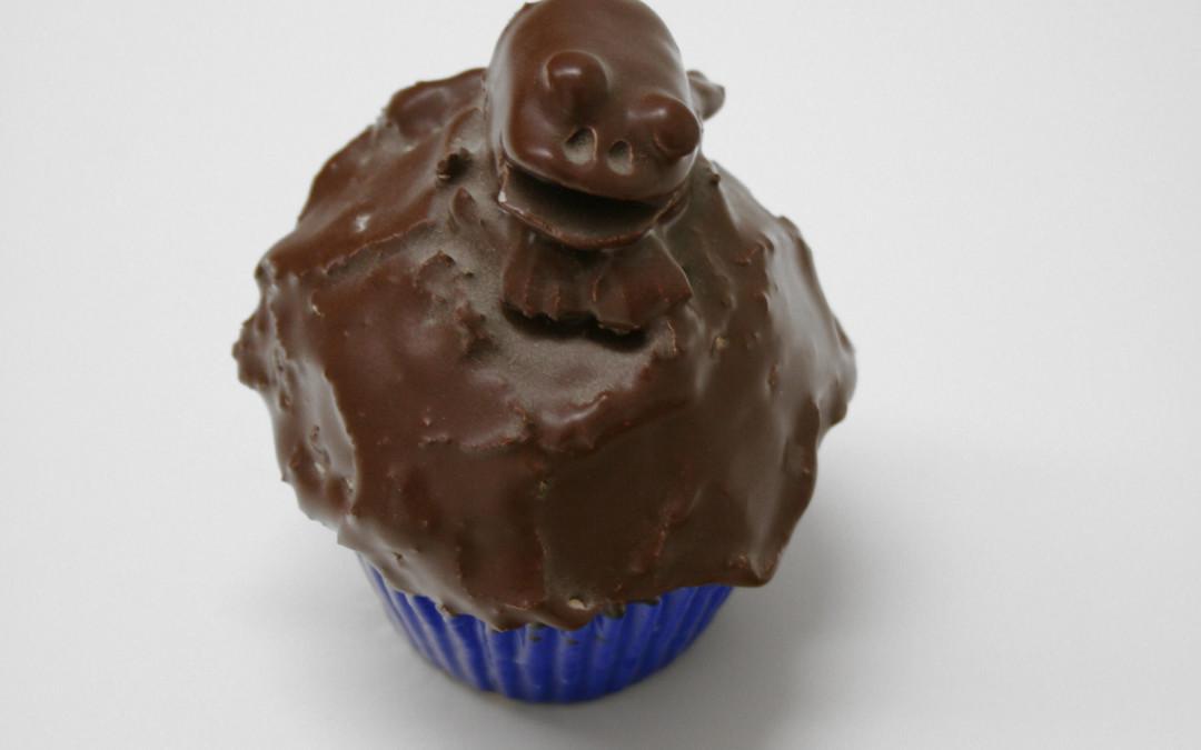 Gilhooly, David – Frog Cupcake, Blue