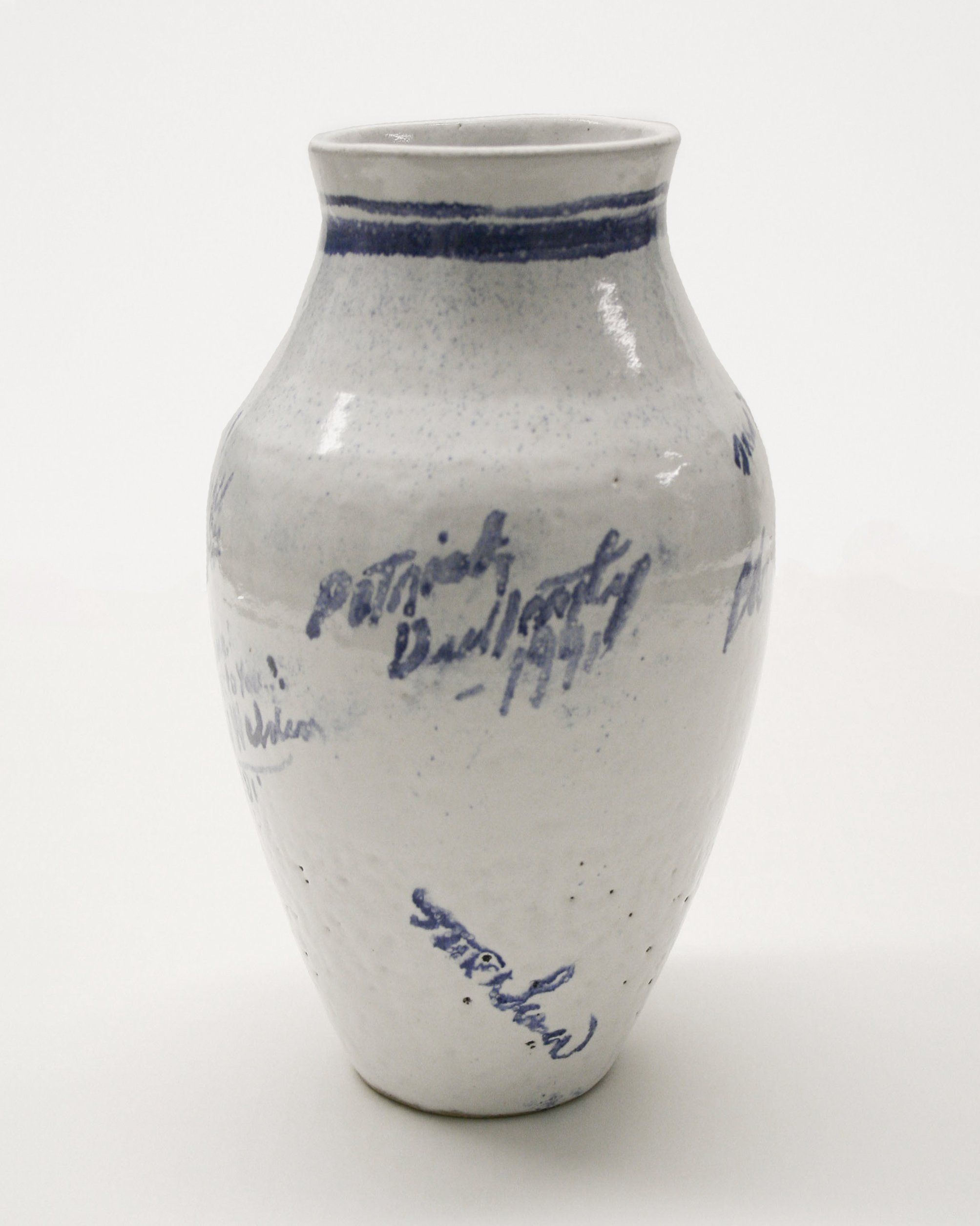 Unknown – Autographed Pot