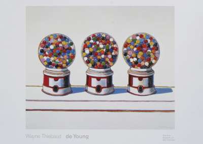 Wayne Thiebaud Three Machines