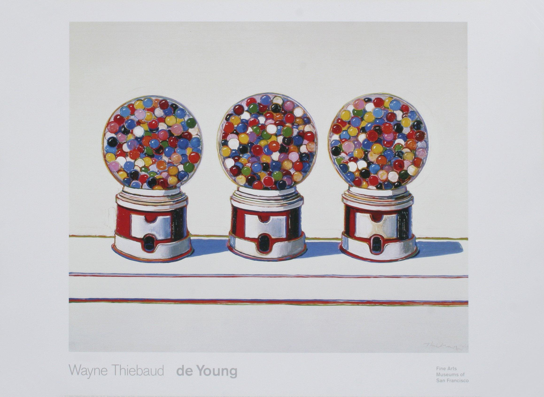 Wayne Thiebaud Three Machines