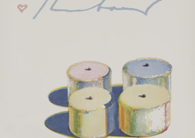 Wayne Thiebaud Four Cakes