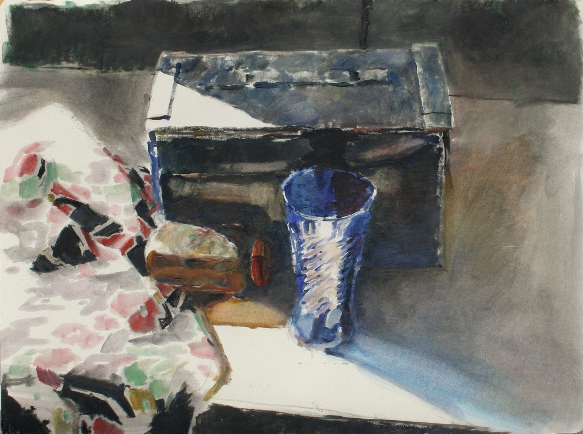 Silva, Jerald – Still Life With Ordnance Box