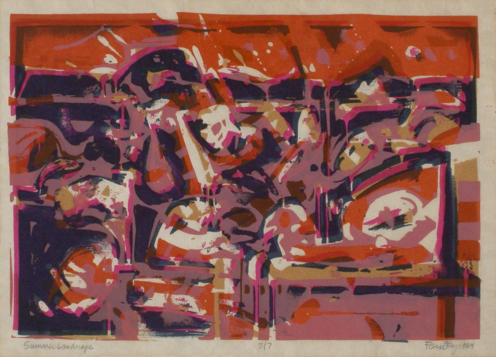 Forney, Darrell – Summer Landscape
