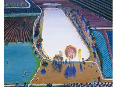 Wayne Thiebaud Ponds and Streams