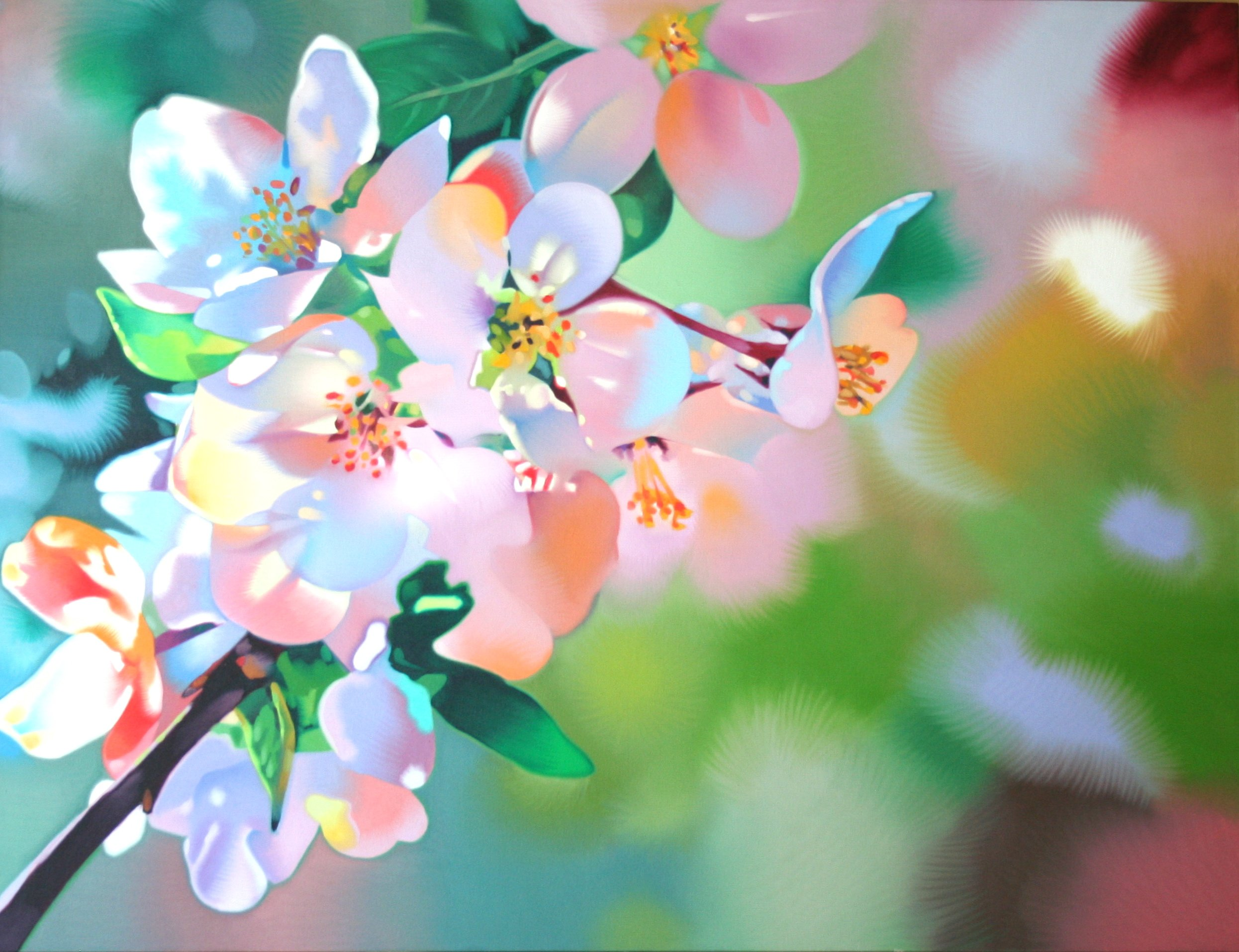 Pruner, Gary – Untitled Cherry Blossoms