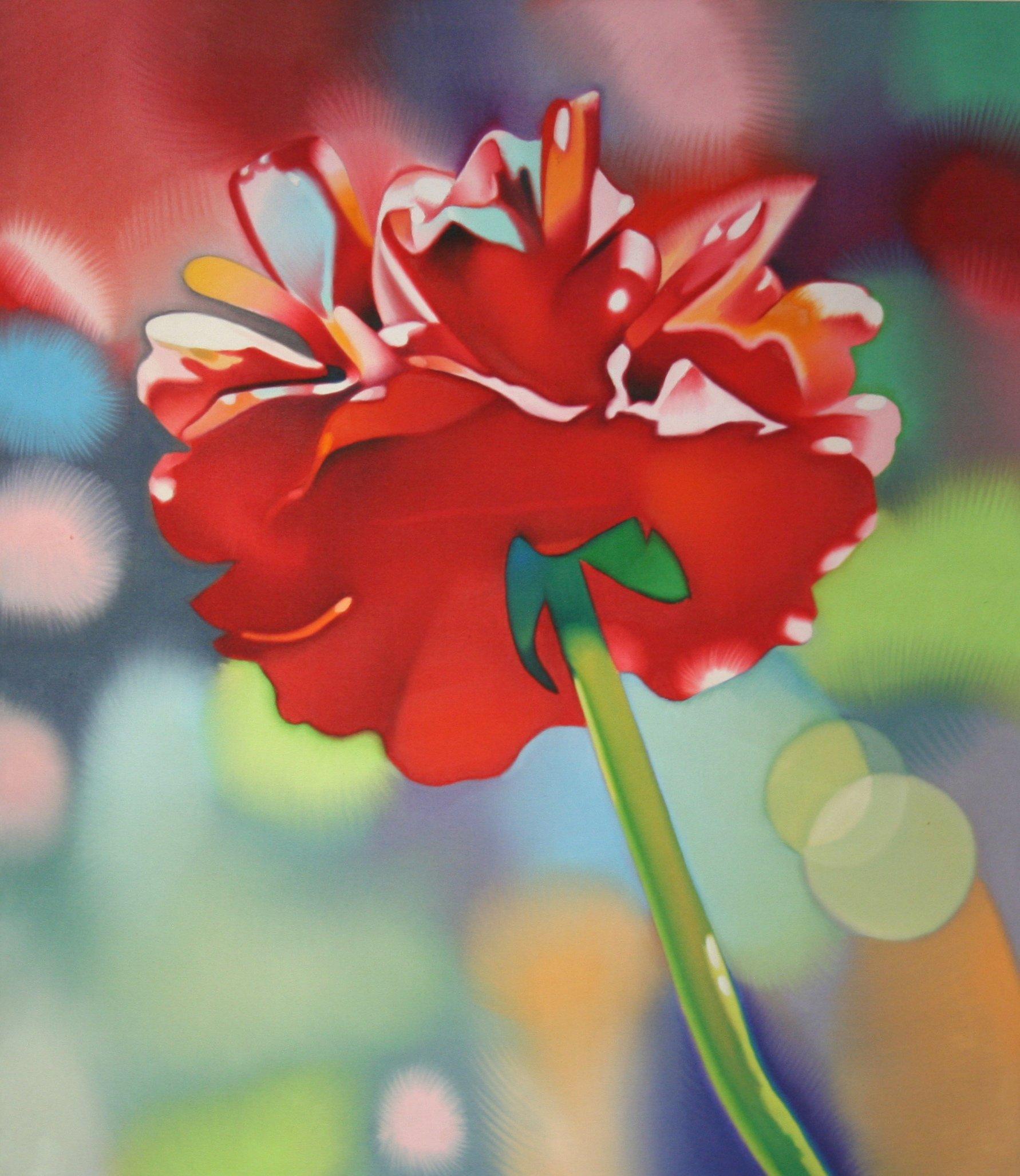 Pruner, Gary – Untitled Red Flower