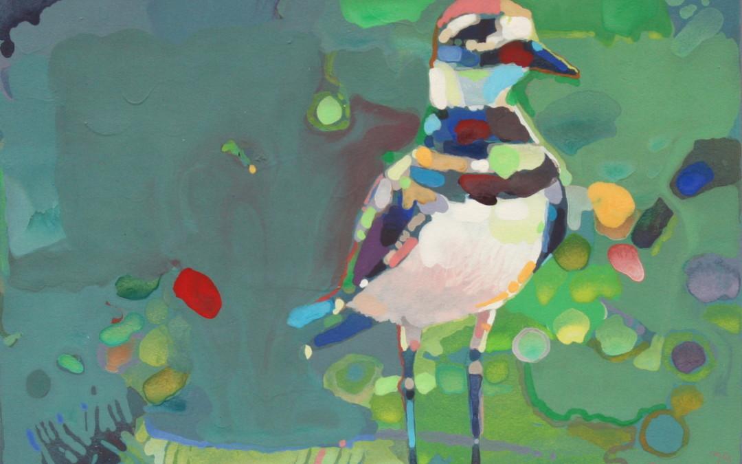 Pruner, Gary – Untitled Standing Bird