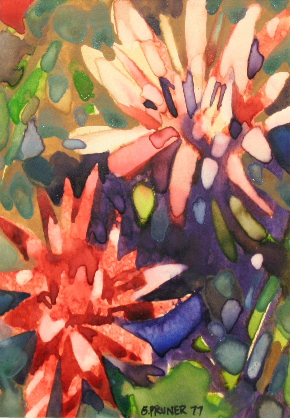 Pruner, Gary – Red Flowers
