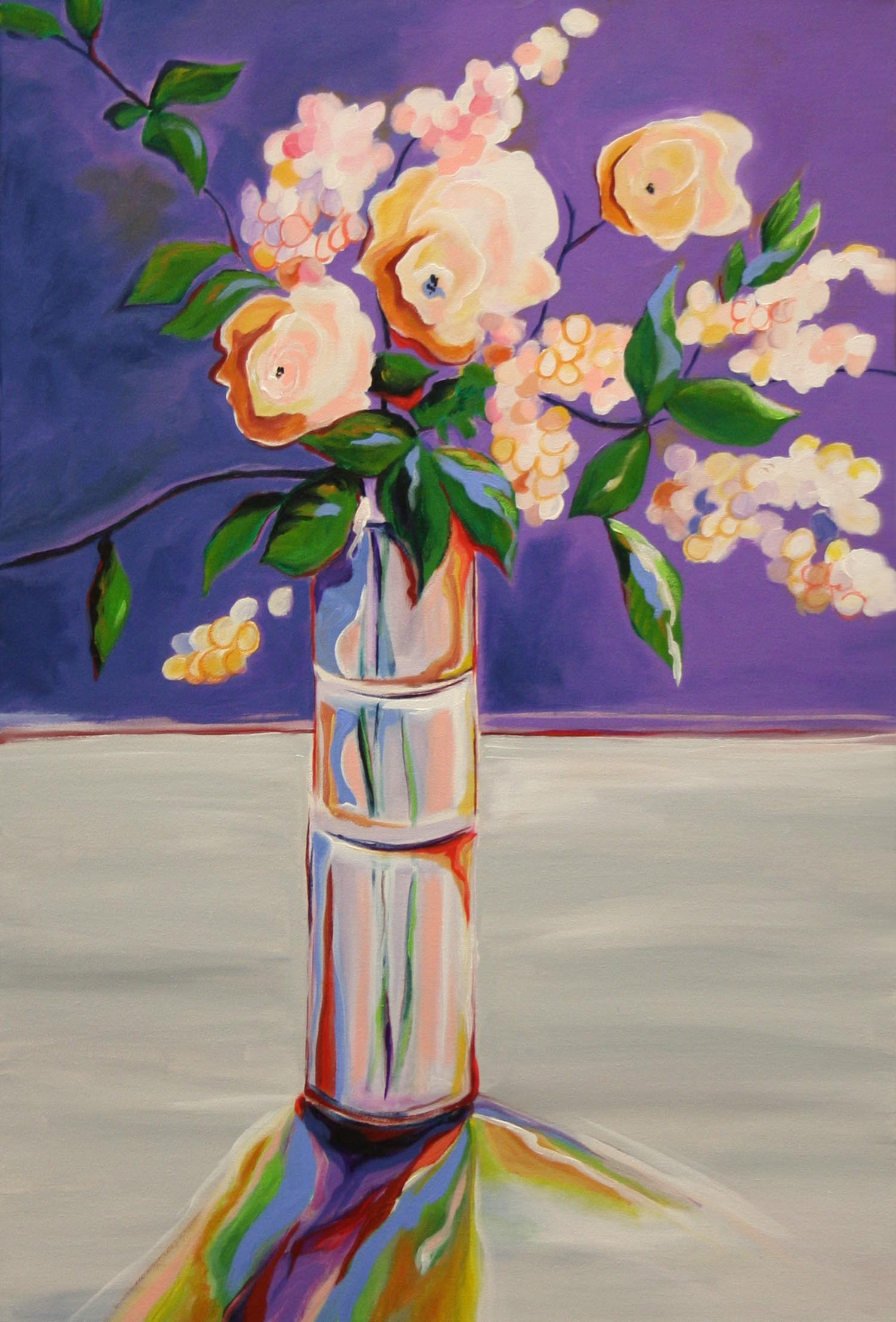 Ferrante, Vito Antonio – White Flowers In Tall Vase