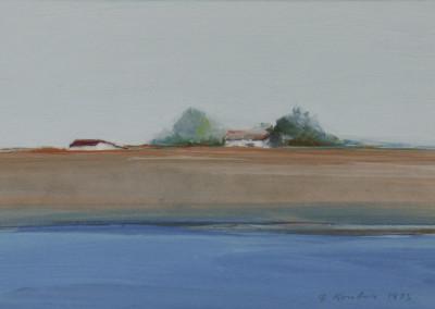 Kondos, Gregory – Untitled Riverscape, 1973