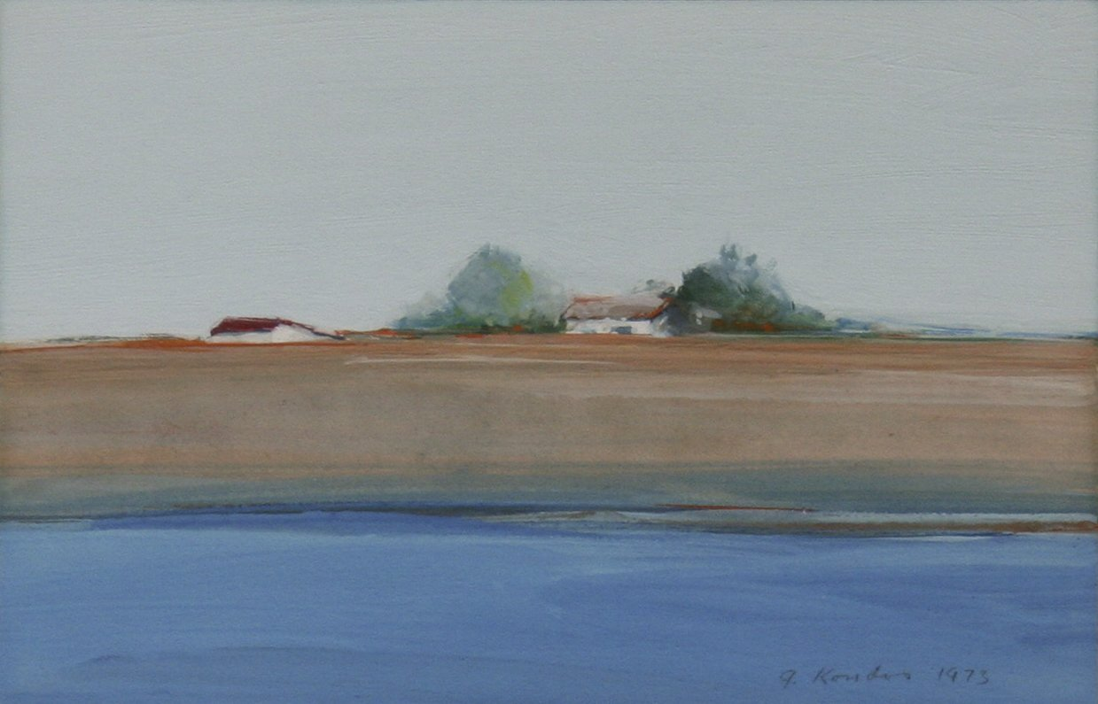 Kondos, Gregory – Untitled Riverscape, 1973