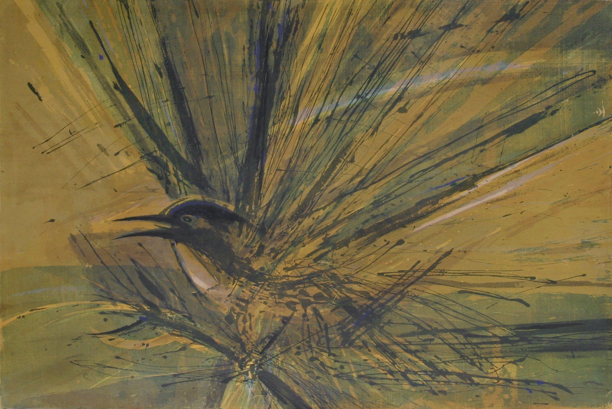 Thiebaud, Wayne – Untitled Bird, 1958