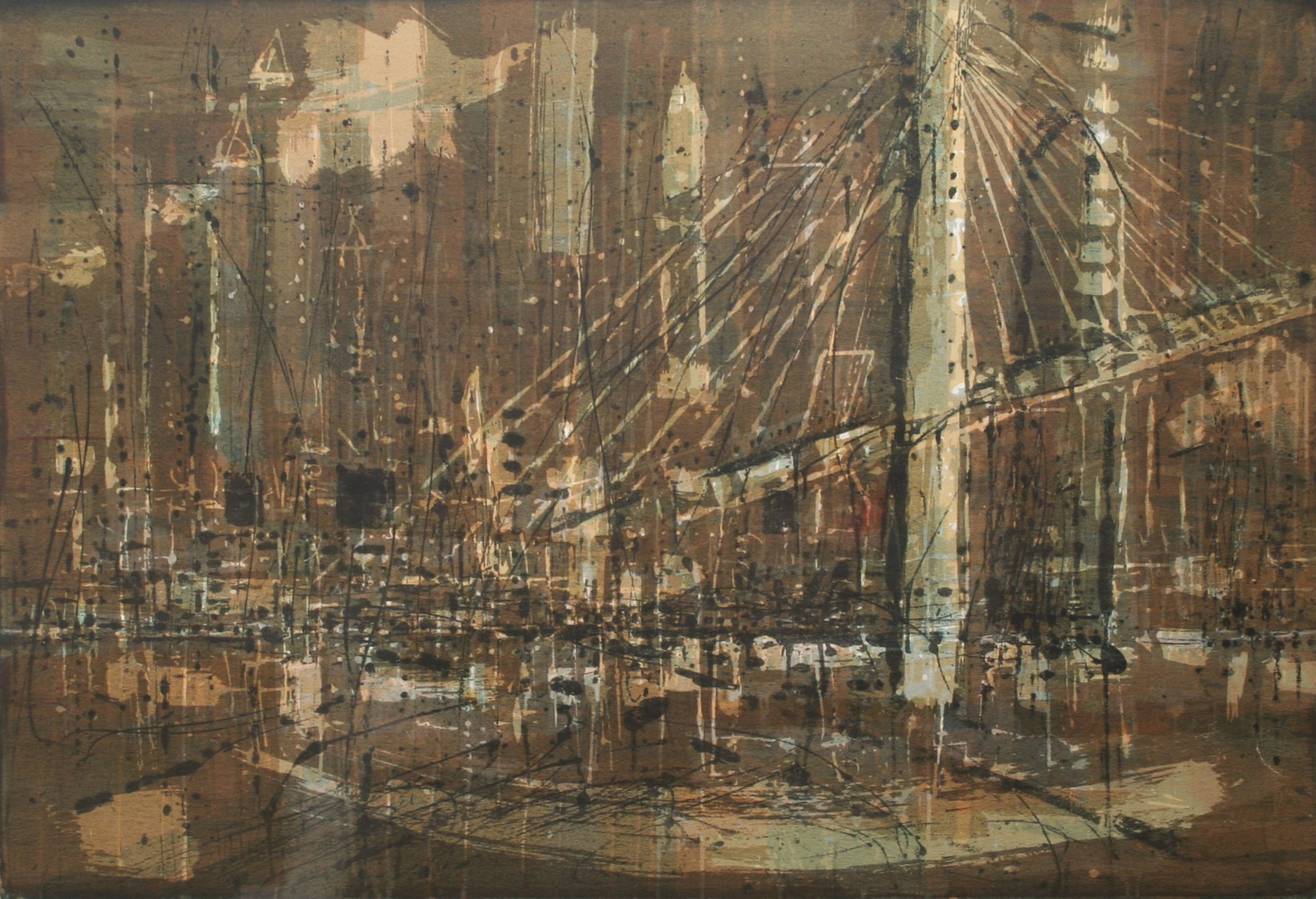 Thiebaud, Wayne – Bridge City, 1957