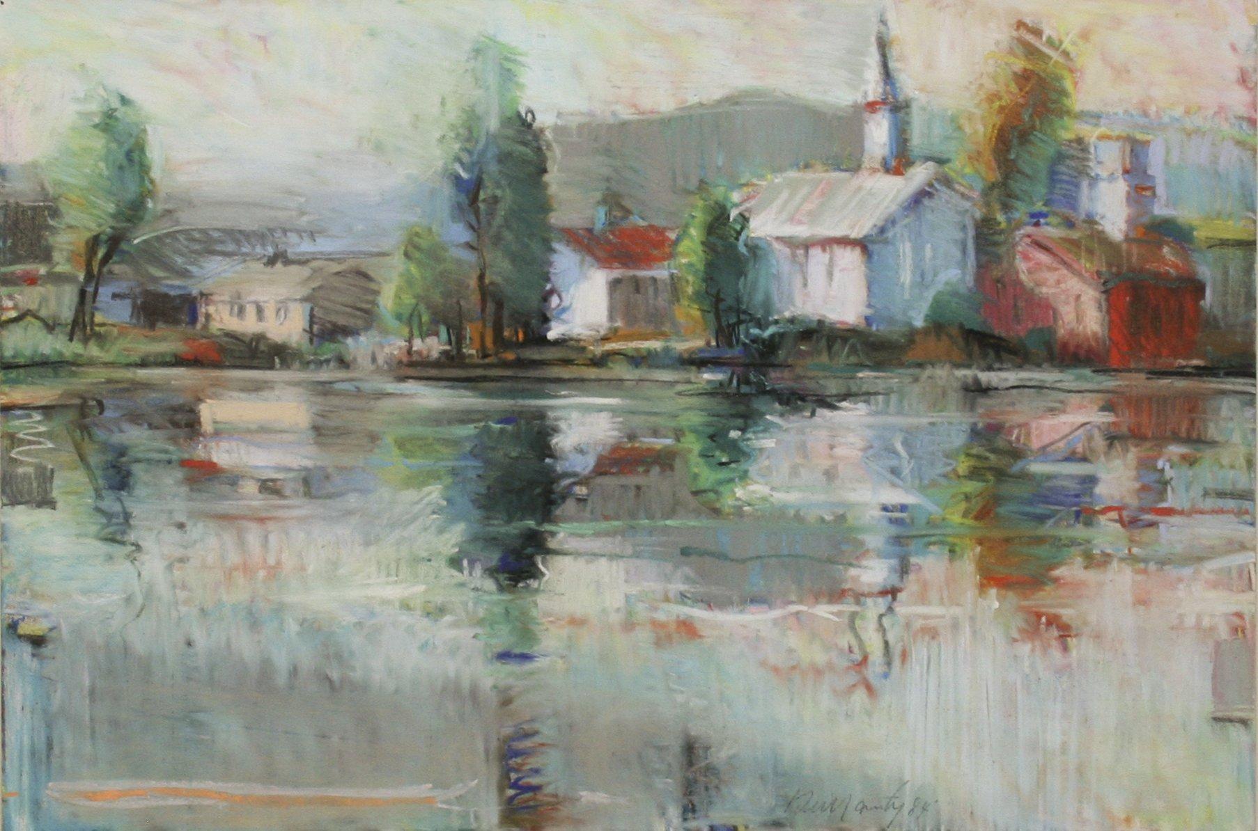 Dullanty, Patrick – Village Pond, 1984