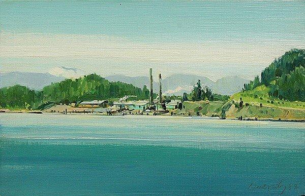 Dullanty, Patrick – Potlatch Plant (Coeur d'Alene, Idaho), 1982
