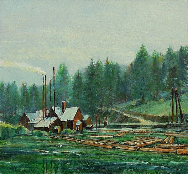 Dullanty, Patrick – Northwest Mill, 1988
