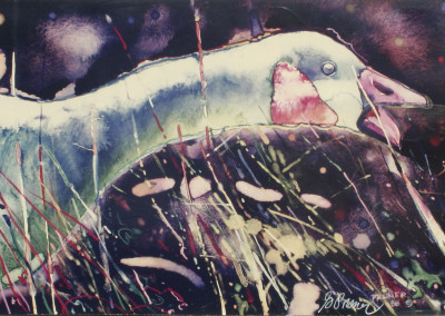 Gary Pruner Untitled Goose 1988
