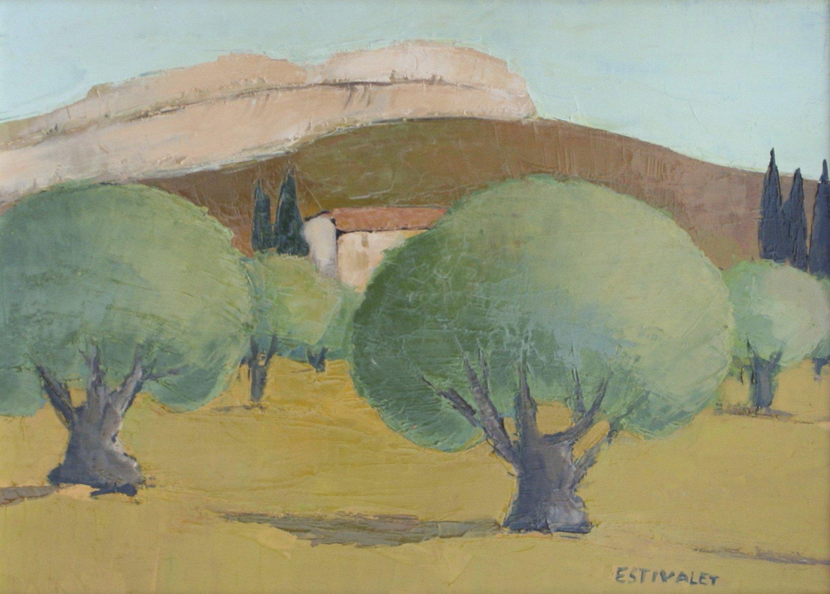 Estivalet, Elisabeth – Le Rocher Calcaire