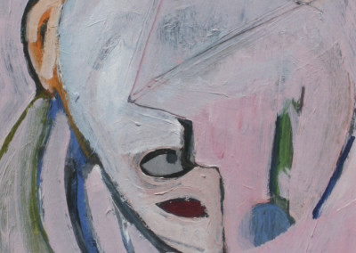 Bult, Matt – Abstract Pink Head, 1989