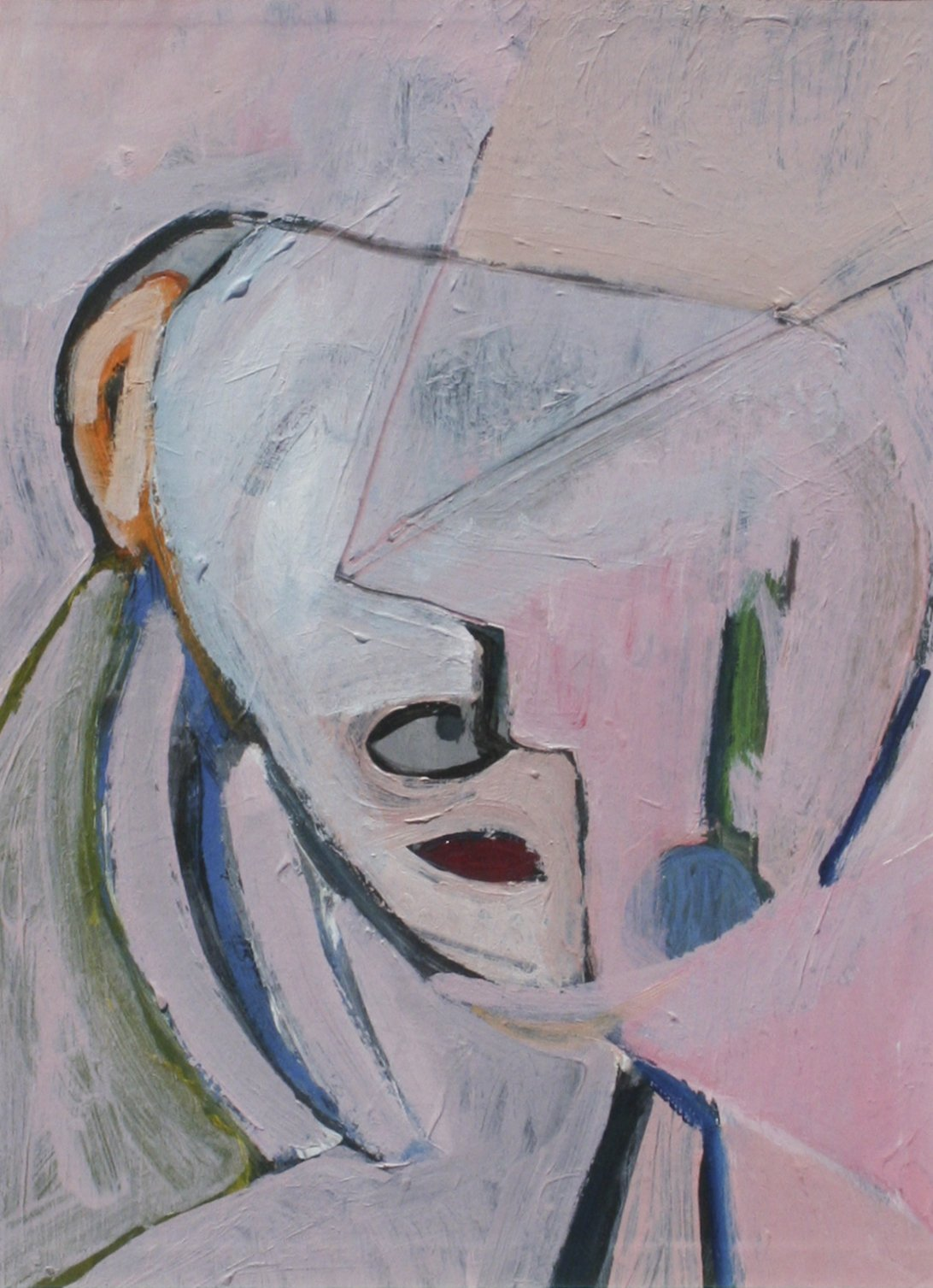 Bult, Matt – Abstract Pink Head, 1989