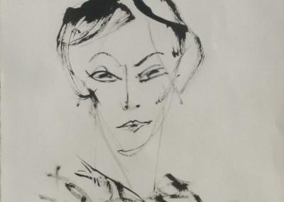 Fred Dalkey Untitled Woman