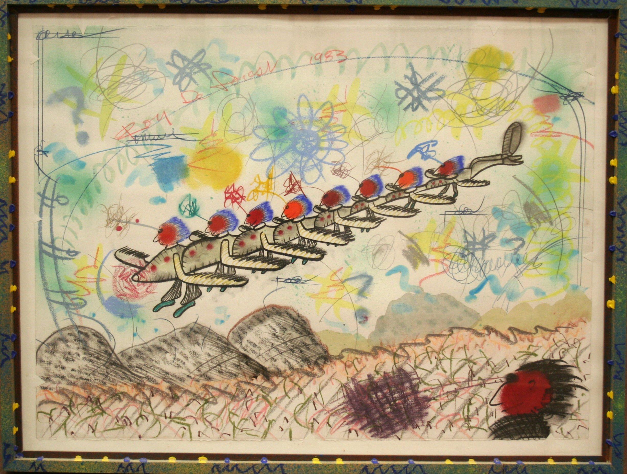 Roy DeForest Untitled, 1983