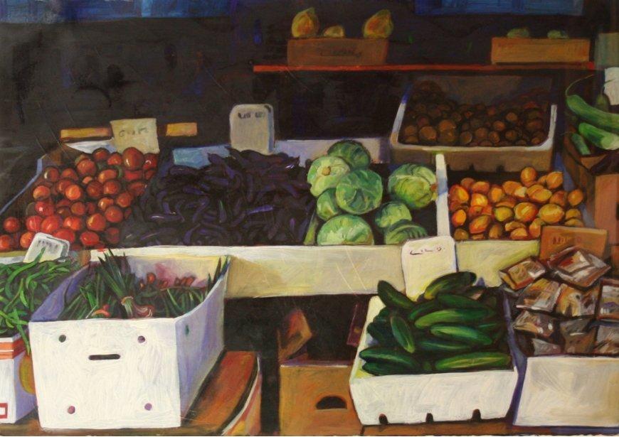 Miles Hermann Hawaiian Produce Market