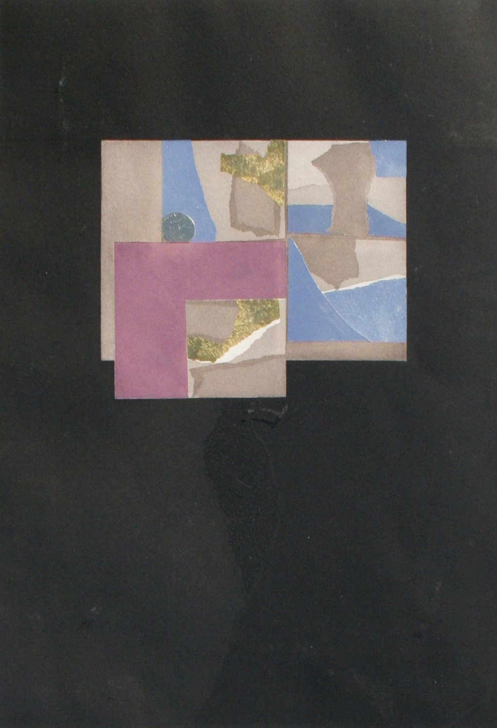Louise Nevelson Untitled Square Study