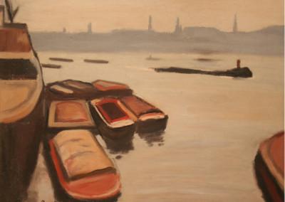 Alan Post The Thames