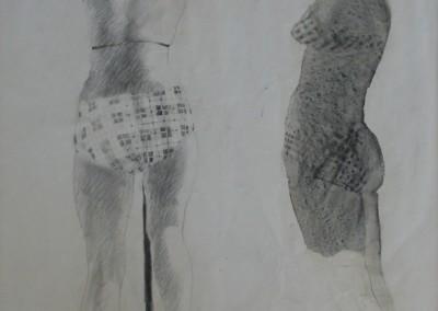 Silva, Jerald – Untitled Figures, 1969