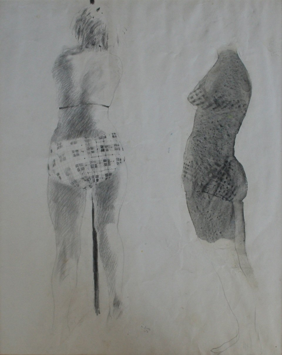 Silva, Jerald – Untitled Figures, 1969