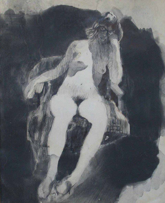 Silva, Jerald – Untitled Nude
