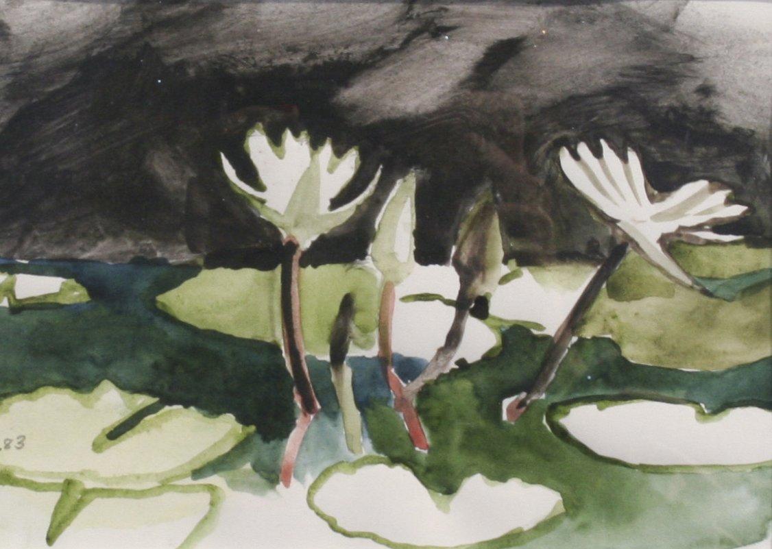 Sheila Sullivan Untitled Water Lilies