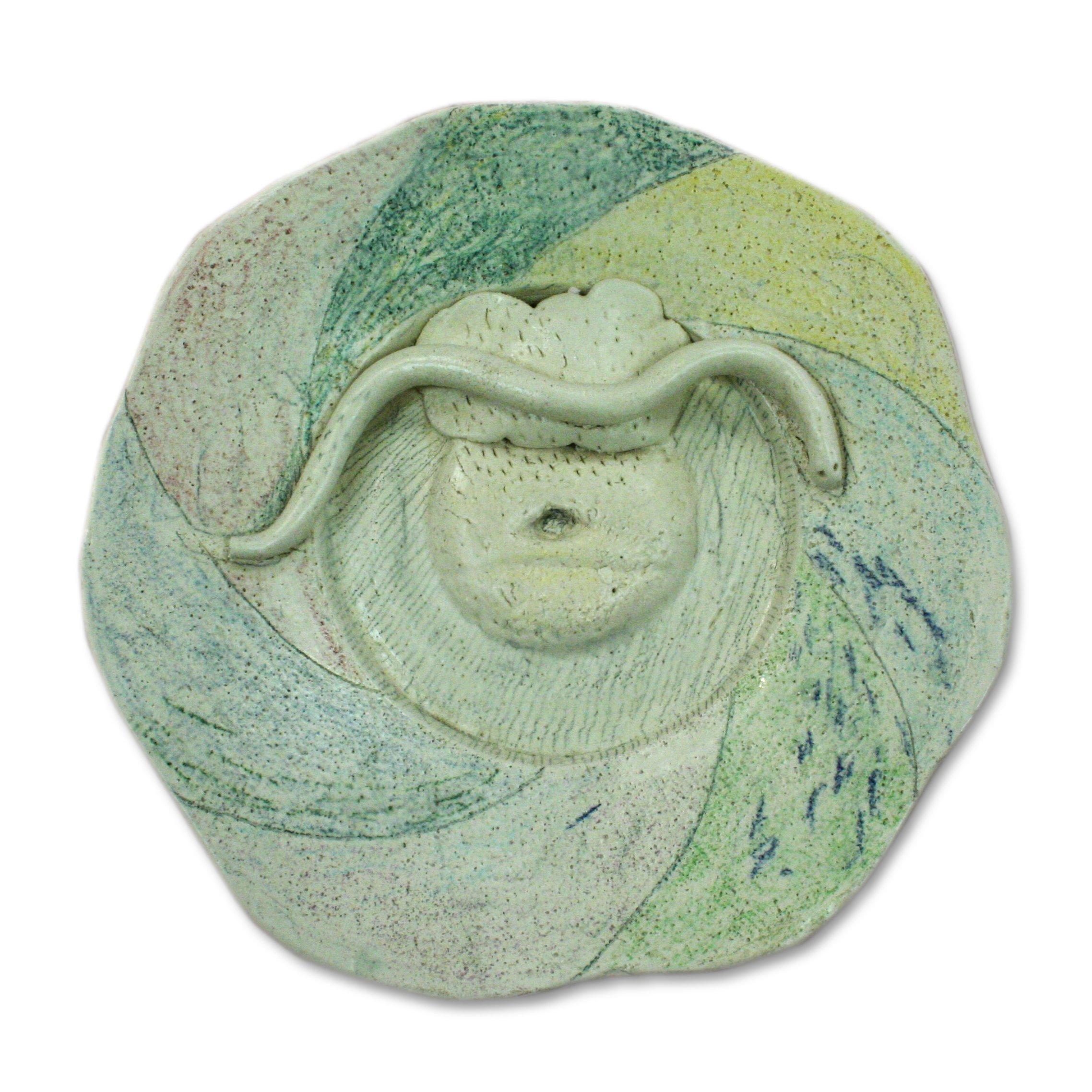 Peter VandenBerge Snake Plate