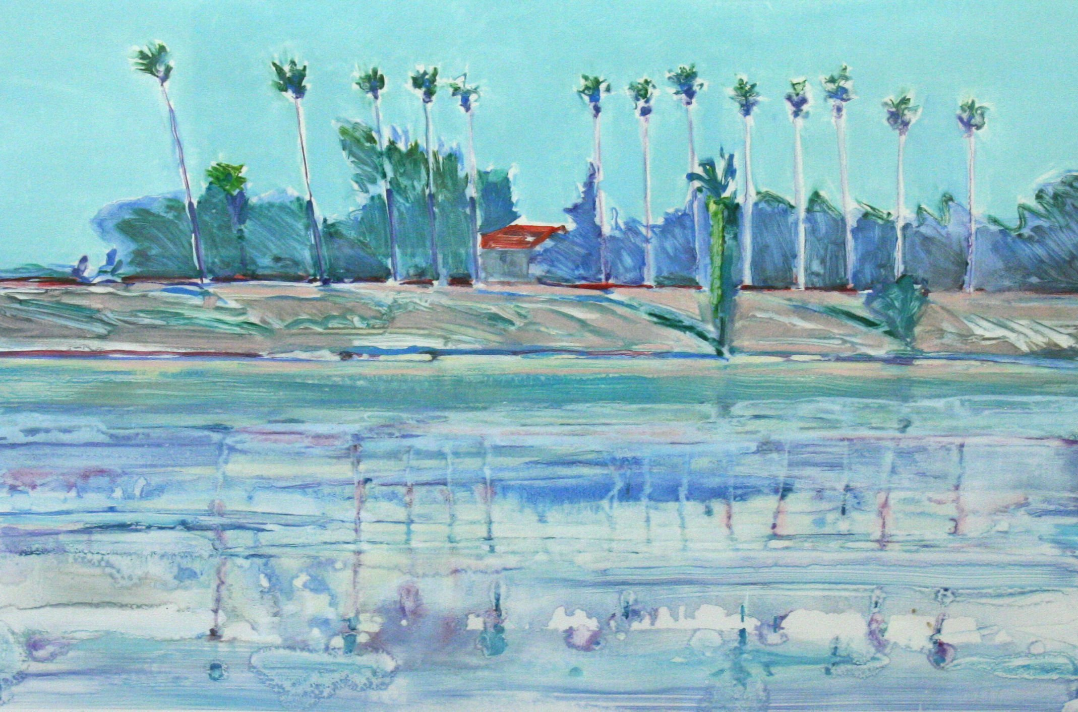 Larry Welden River Island Palms