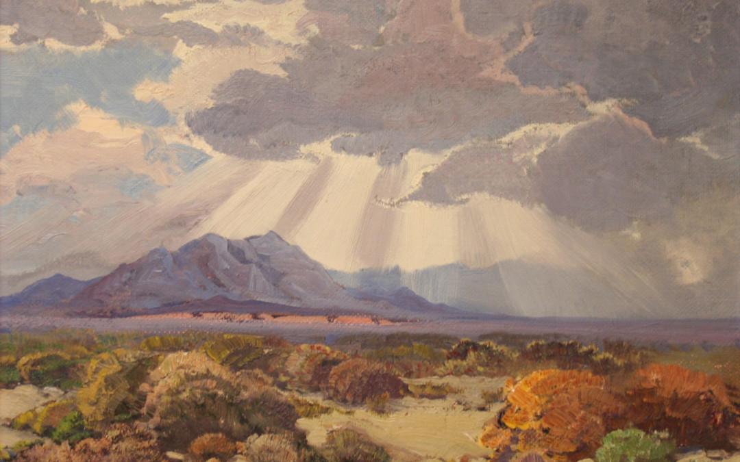 Fred Grayson Sayre Untitled Desert