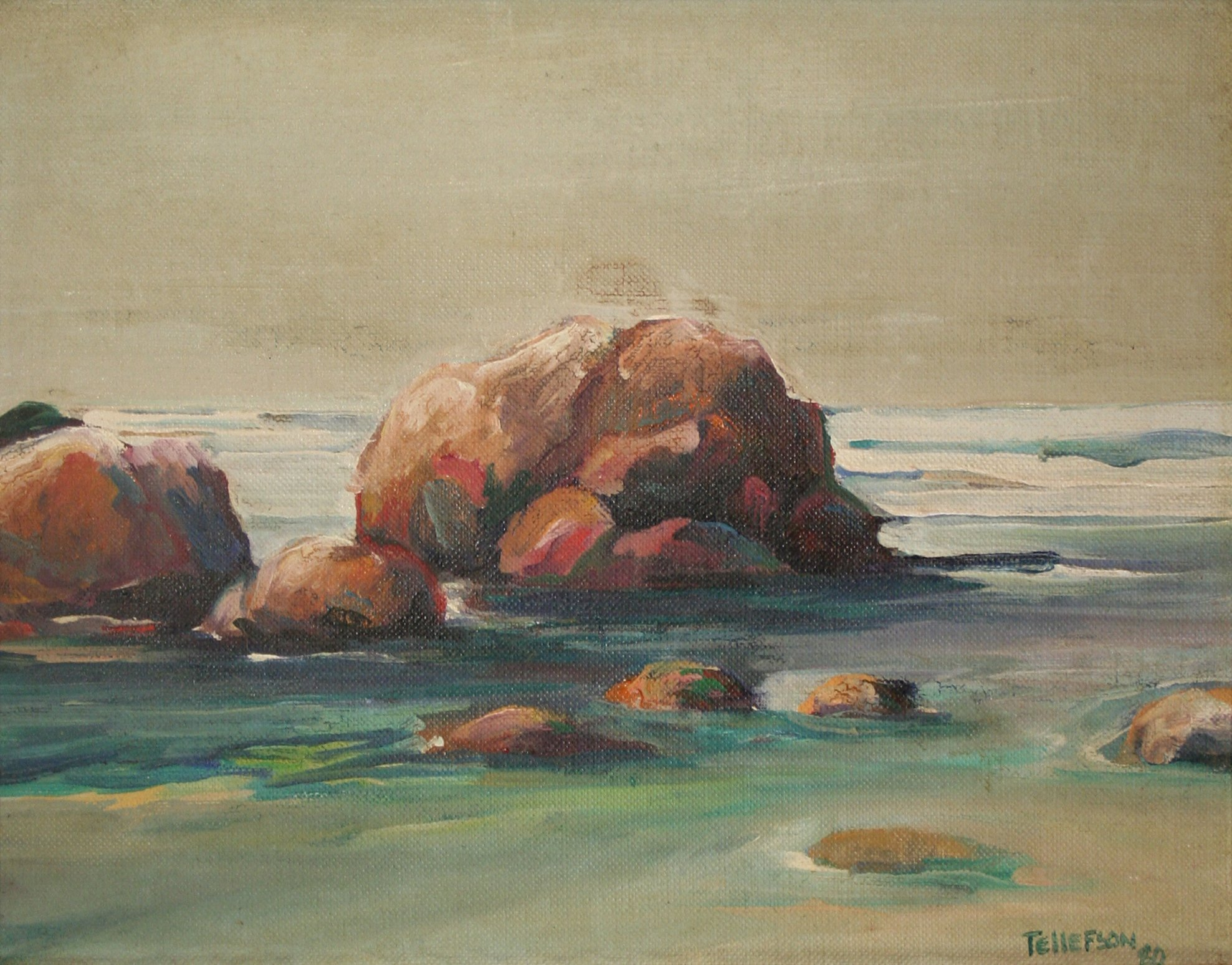 Roy Tellefson Untitled Coastal Scend