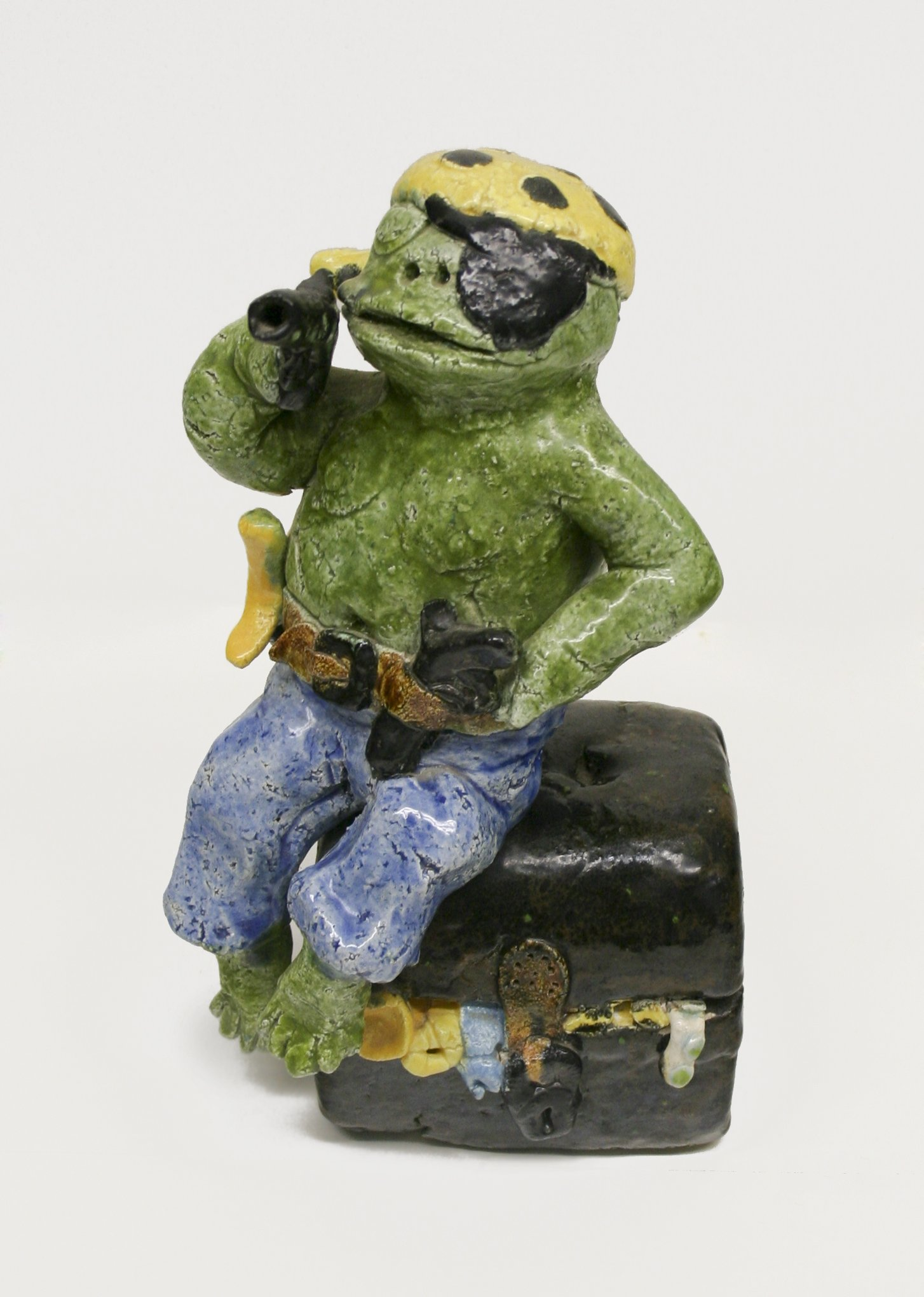 David Gilhooly Untitled Pirate Frog, 1970