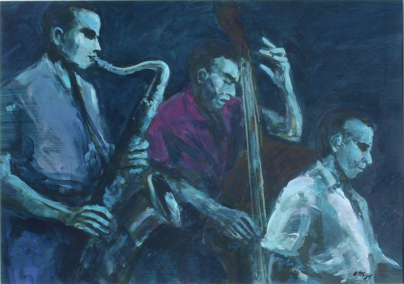 Anthony Montanino Untitled Three Musicians, 1989